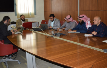A Team from the Deanship Holds a Meeting with Apps Pro Co.